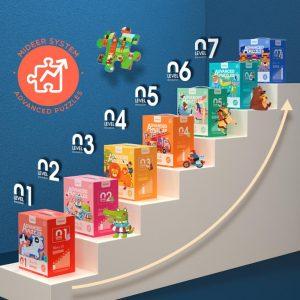 puzzle nivel 3, 4 en 1