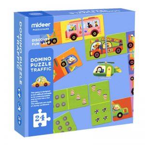 Puzzle domino Transporte